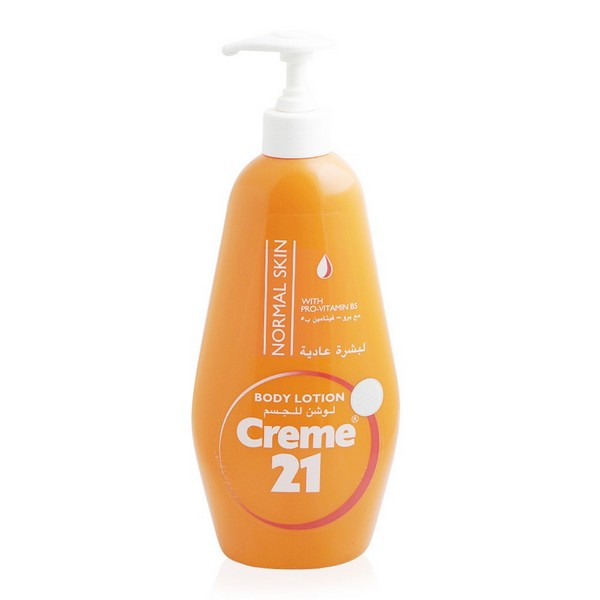 Creme 21 Body Lotion Normal Skin with Pump
